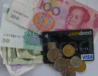 Geld abheben in China mit Comdirect