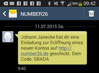 number26 invite code