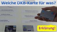 DKB Karten