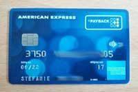 Amex Payback Karte