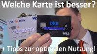 Kreditkarte DKB oder ING-DiBa