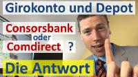Consorsbank Vergleich mit Comdirect