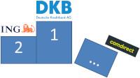 Comdirect DKB und ING