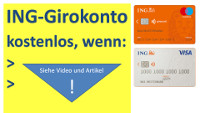ING Girokonto kostenlos