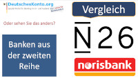 n26 norisbank Vergleich