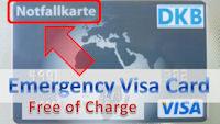emergency visa card