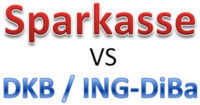 Sparkasse vs DKB vs ING-DiBa
