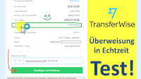 transferwise real time