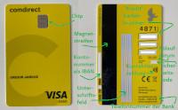 comdirect visa debit card