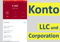 Abrir cuenta bancaria para LLC o Corporation