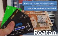 Retirar dinero en Roatan