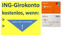 Cuenta corriente del ING en Alemania sin costo