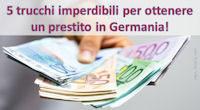 ottenere un prestito in germania