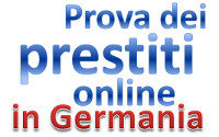 prestiti online germania