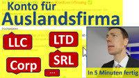 Aprire un conto in Germania per un'azienda all'estero