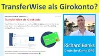 TransferWise jako rachunek rozliczeniowy