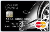 Online Konto MasterCard